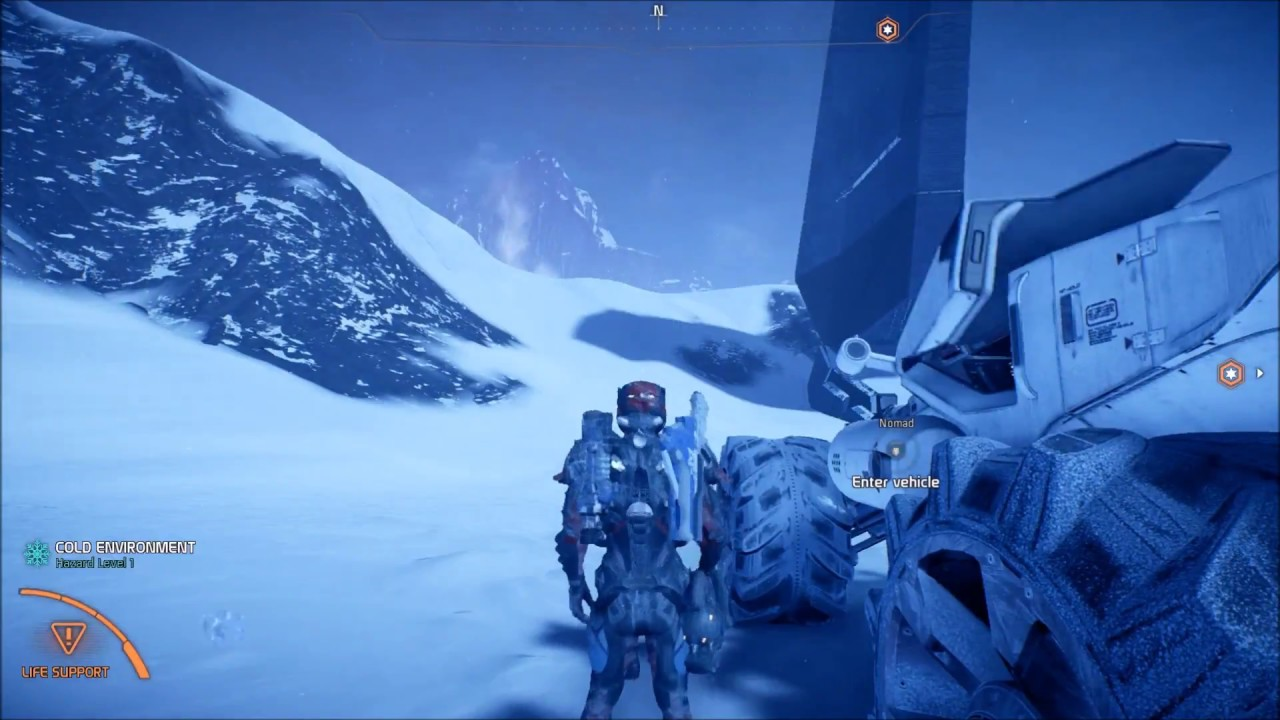 Mass Effect Andromeda Get to Entrance of Voeld Vault