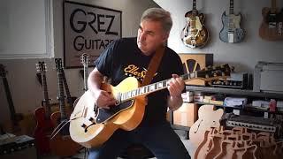 Little Charlie Baty Custom ES-250 Guitar Montage