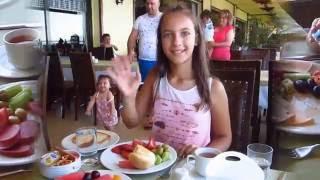 ЗАВТРАК В ОТЕЛЕ UTOPIA WORLD SPA HOTEL 5* ALANYA// Наталья Шенер.