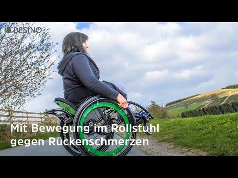 Rückenschmerzen im Rollstuhl - dynamisches Sitzen bringt die Lösung