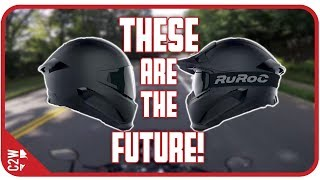 THESE are the future of MOTORCYCLE helmets [Ruroc Helmets]