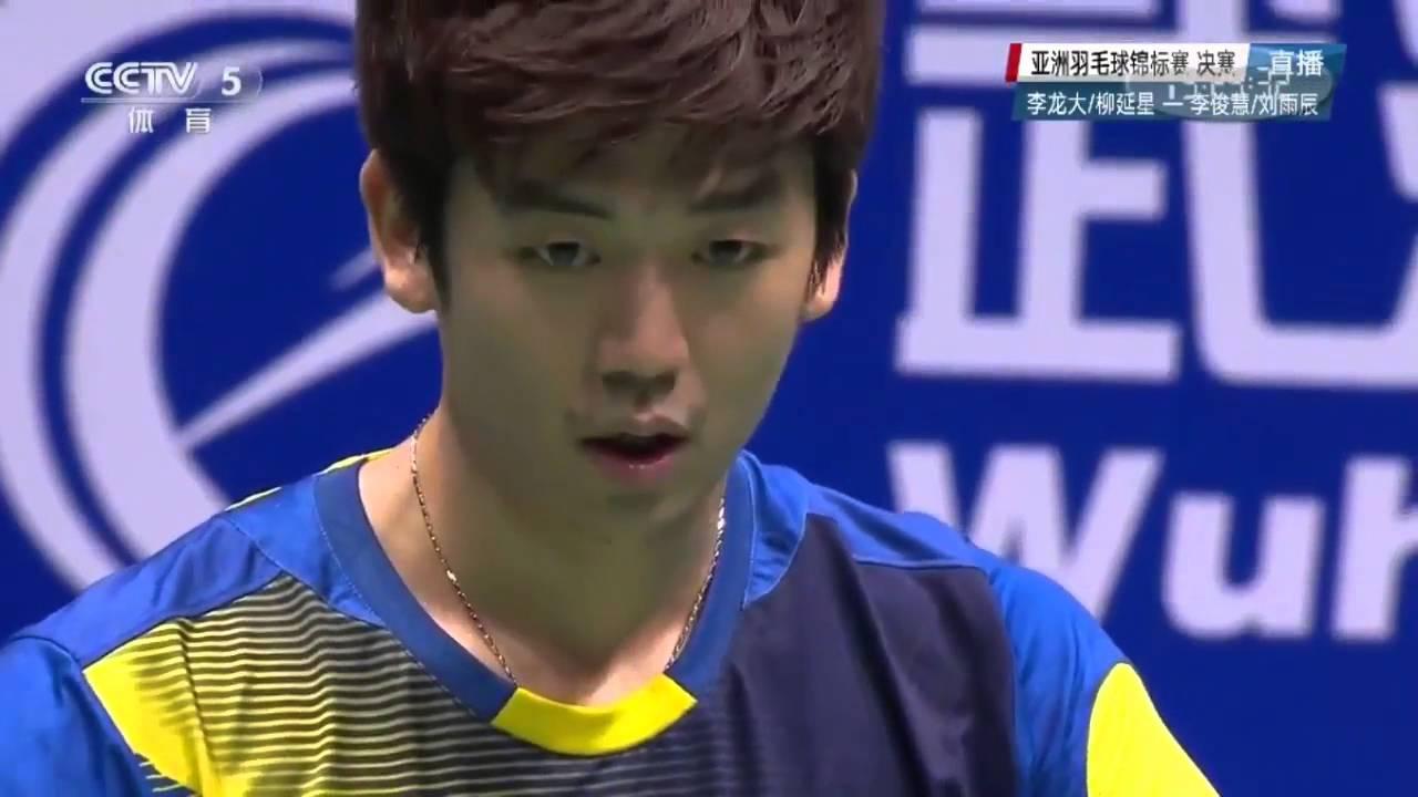 Lee Yong Dae Yoo Yeon Seong vs Li Junhui Liu Yuchen 2016
