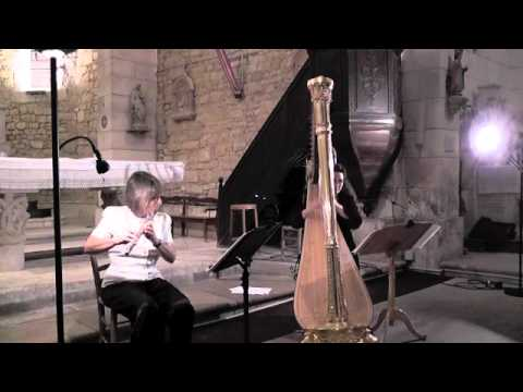 Clare Southworth Performs Andy Scott's Sonata for Flute and Harp