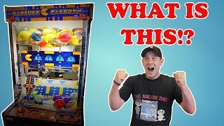 Capsule Factory!! Can I Win From The Rare Pac Man Prize Redemption Game at Walmart TeamCC