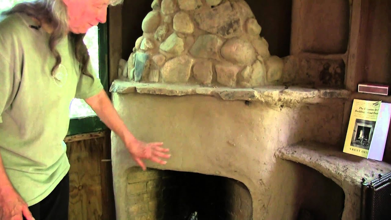 local sustainability strawbale studio rumford fireplace youtube