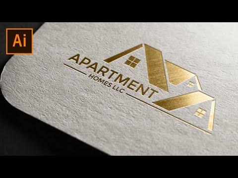 Logo Design Illustrator : House Logo Tutorial thumbnail