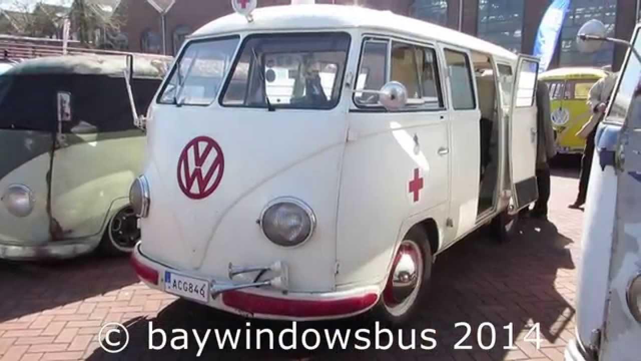 vw t1 barndoor Ambulance @ amersfoort 2014 - YouTube