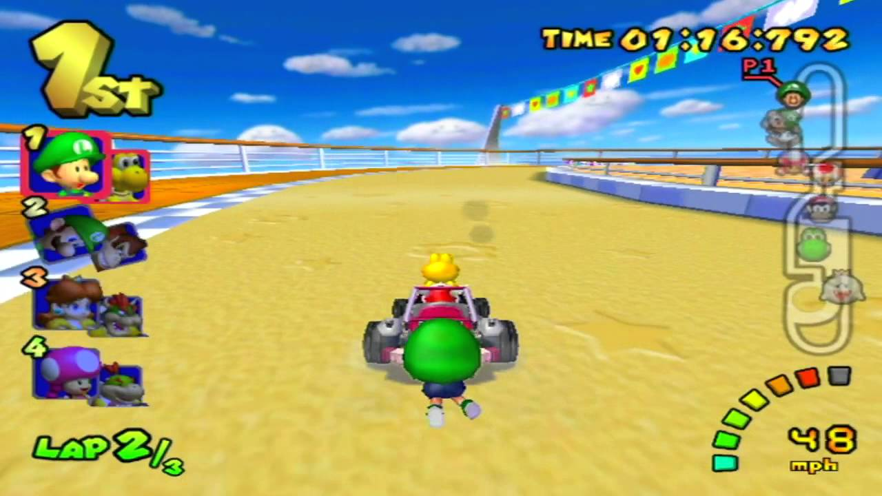 All About Spiny Super Mario Wiki The Encyclopedia Luigi Circuit Wii