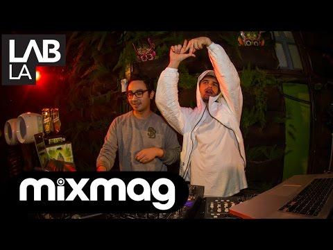 SWEATER BEATS and FALCONS future r'n'b DJ set in The Lab LA