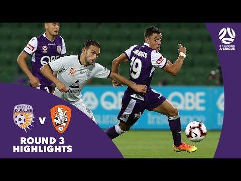 Hyundai A-League 2018/19 Round 3: Perth Glory 2 - 1 Brisbane Roar Highlights