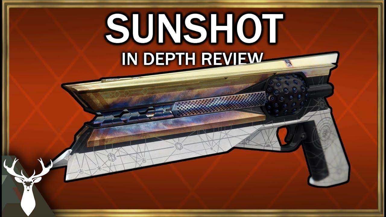 Destiny 2 - Sunshot - In Depth Review