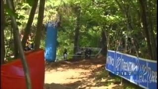 Sam Hill 3rd, Val di Sole, 2008 -  World Championship