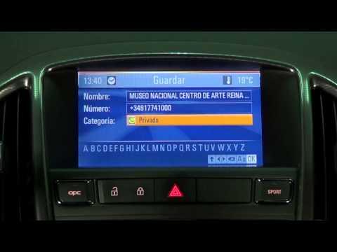 Opel Astra OPC. Modelo 2012. Navegación. Navi 900