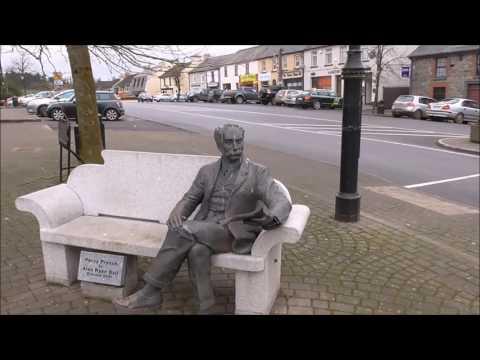 Balladeer Percy French Statue in Ballyjamesduff