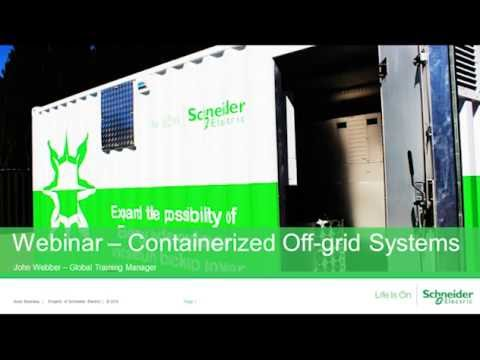 [Webinar replay] Containerized Solutions with the Conext XW+