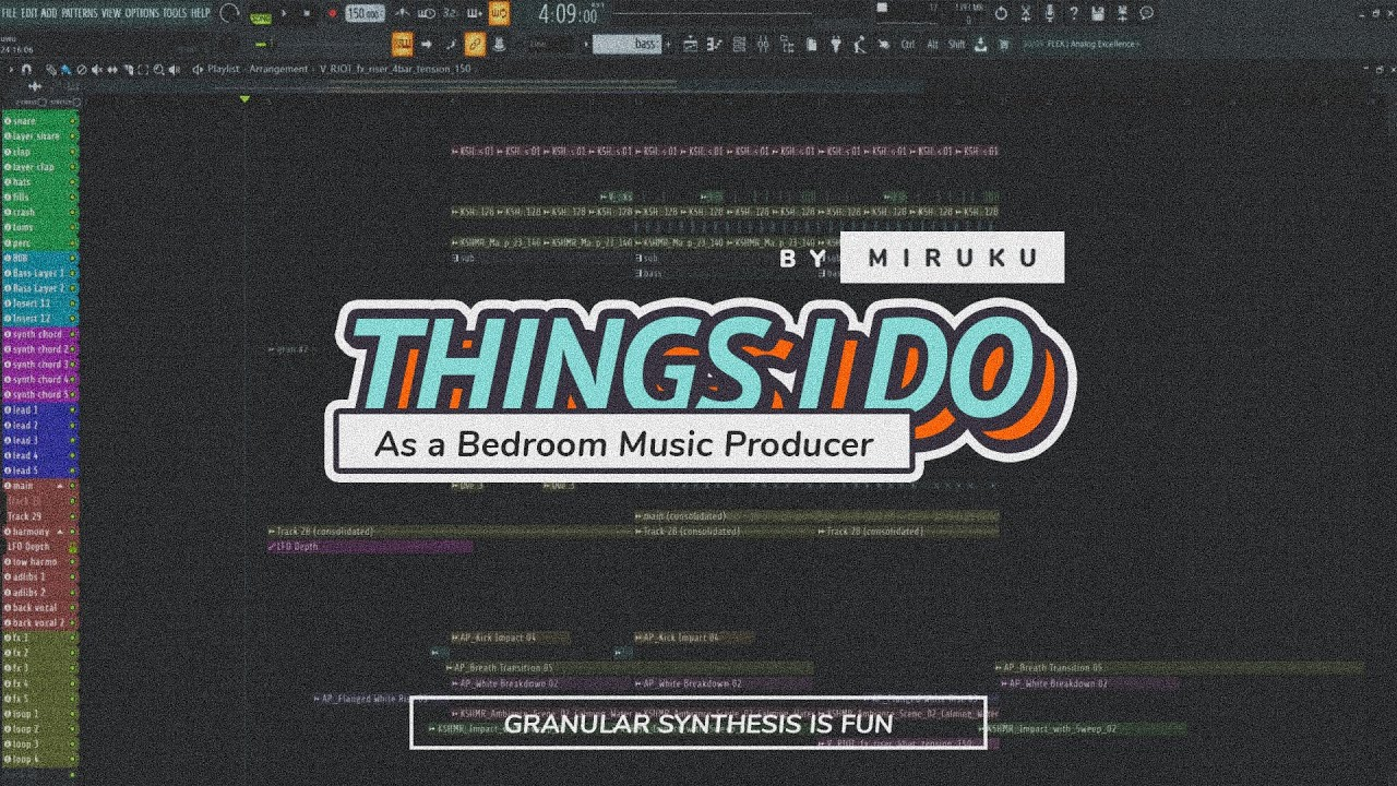 Things I Do As a Bedroom Music Producer | Granular Synthesis is Fun