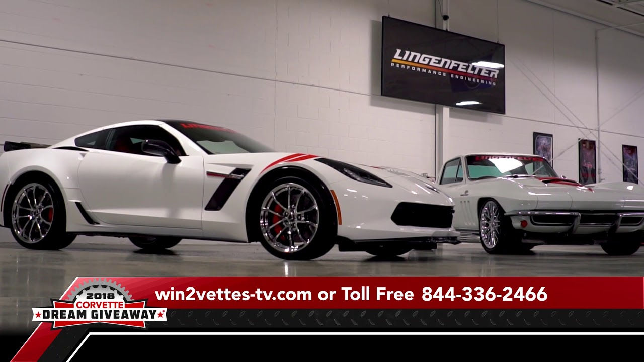2018 Corvette Dream Giveaway- Win BOTH Corvettes!