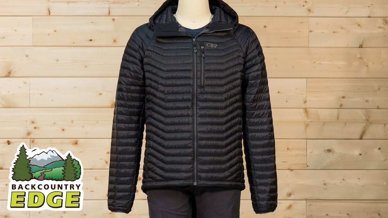 Outdoor Research Mens Verismo Hooded Down Jacket