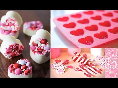 DIY Valentine's Day Treats! Under $5!