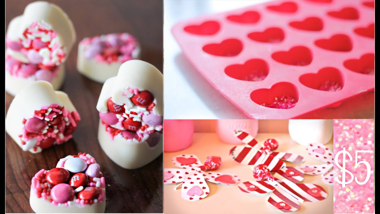 diy valentines day treats under 5 youtube - Homemade Valentine Treats