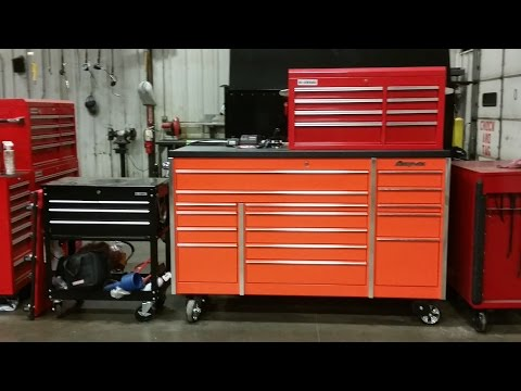 """Snap-on KRL1163 3 bank master series toolbox tour """"updated"""""""