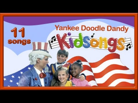 Yankee Doodle Dandy   Kidsgs  Part 1  Patriotic Sgs for Children  American  PBS Kids  USA