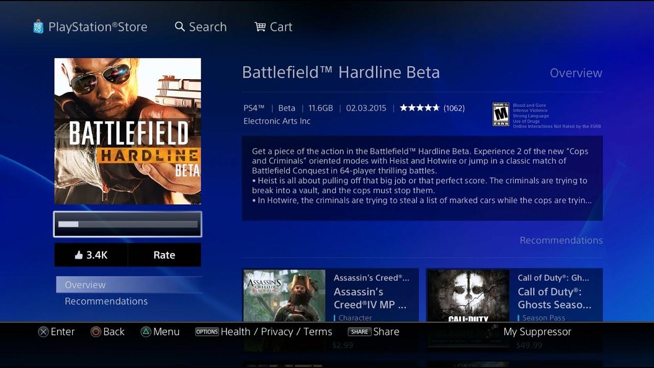 battlefield hardline 2015 системные требования