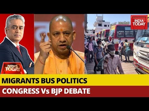 Has UP Govt Scored A Self-Goal By Denying Buses For Migrants ? | News Today With Rajdeep
