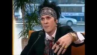 Andy Mccoy haastattelu Aamu TV:ssä 2002