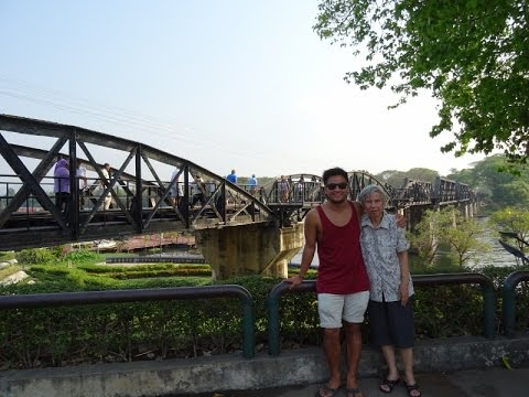BRIDGE OVER THE RIVER KWAI, Kanchanaburi - Travel Vlog 67