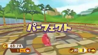 Nintendo 3DS - Super Monkey Ball 3D (World 1,2,7 Footage)
