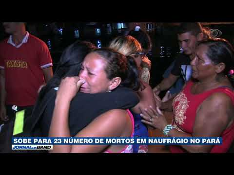 Sobe Número De Mortos Em Naufrágio No Pará