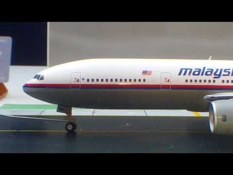 JC Wings 200 Malaysia Airlines B777-200ER(Flight 370- Commemorative Special Edition)Review