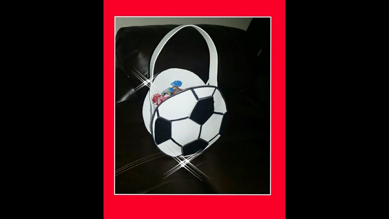 8a9c2bd61 DIY Como Hacer Dulcero De Balon Futbol - YouTube