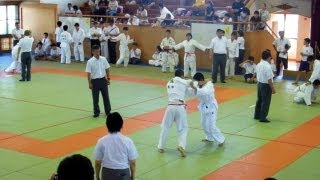 Judo Competition in Japan!