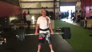 69 Year Old Crossfitter Deadlifts 285lbs - Allen Piper