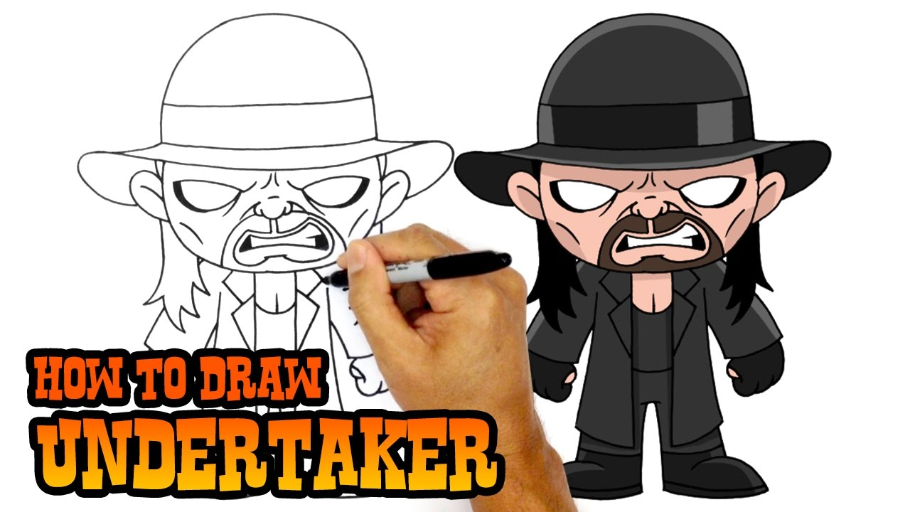 Uncategorized How To Draw The Undertaker how to draw undertaker wwe youtube