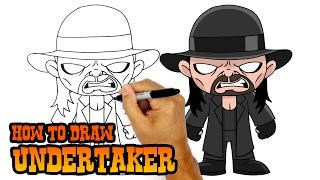 How to Draw Undertaker | WWE