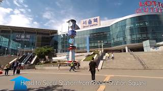 How to ride the KTX at Seoul Station | Korea Travel Tips