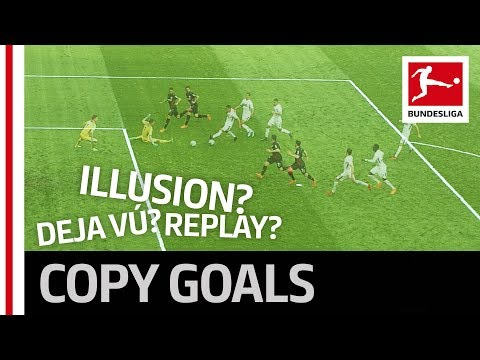Bundesliga mystery presents - two identical goals in one match