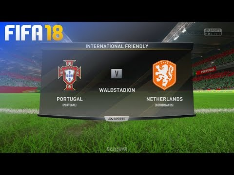 FIFA 18 - Portugal vs. Netherlands @ Waldstadion