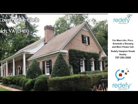 4301 Country Club CIR, Virginia Beach, VA Presented by Redefy Hampton Roads.