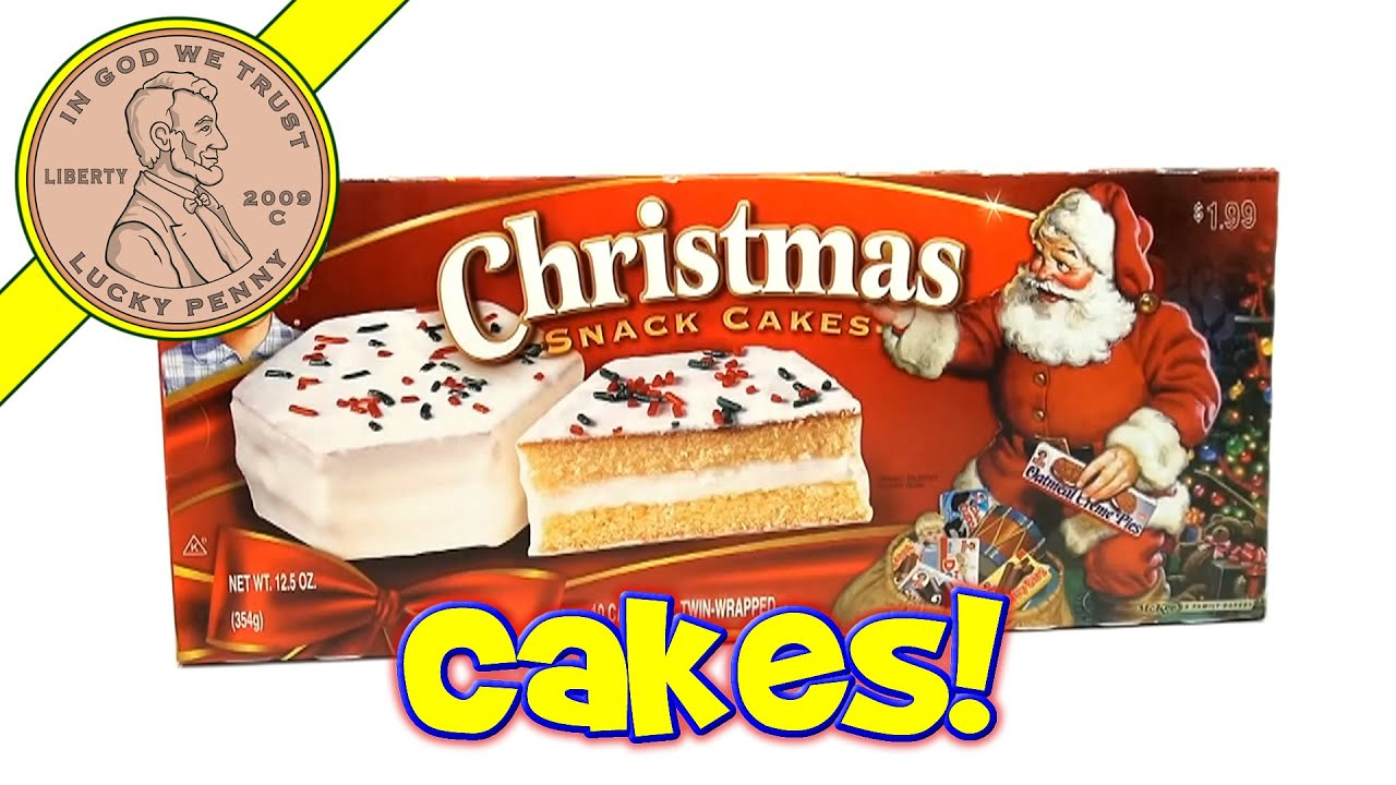 Little Debbie Christmas Snack Cakes - 2013 Christmas Candy & Snack ...