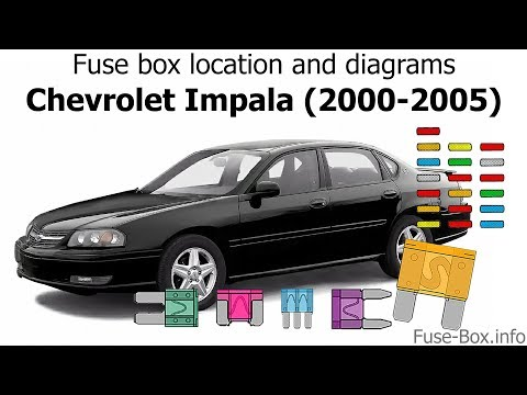 04 impala fuse box accessory fuse box location and diagrams chevrolet impala  2000 2005  youtube  fuse box location and diagrams