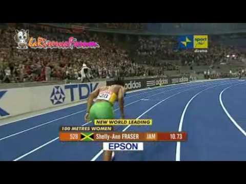 Mondiali Atletica Berlino 2009: Finale 100 metri Donne