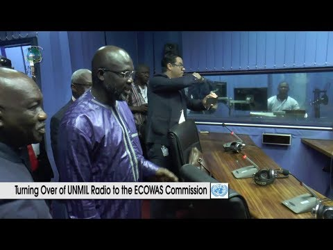UNMIL RADIO TURNING OVER TO THE ECOWAS  COMMISSION
