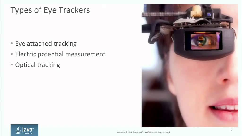 From a Certain Point of View: Eye Tracking with Java(FX)