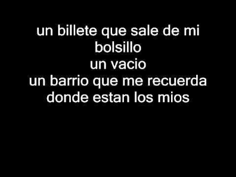 Anochece-Nach (letra)