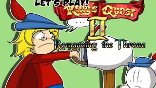 Let's Play King's Quest II: Romancing the Throne Episode 1 - Finding a Waifu
