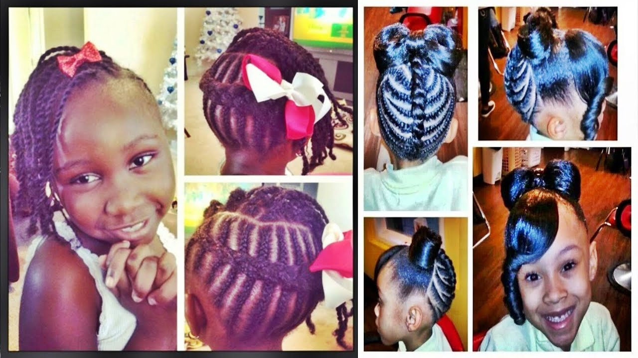 Cute Easy Hairstyles For Black Girls Cute Hairstyles For School